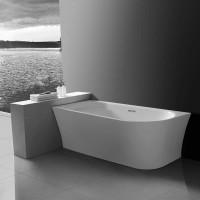 Ванна акриловая Vincea VBT-301-1500L, 1500*780*600, цвет белый, левая, слив-перелив в комплекте, хро