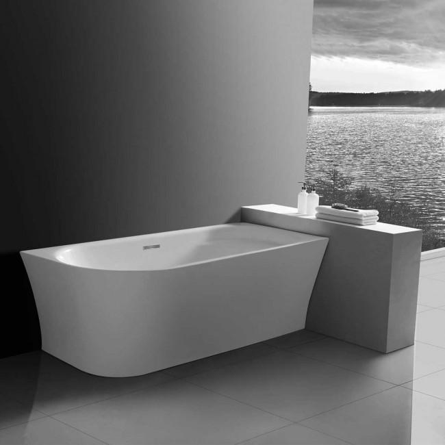 Ванна акриловая Vincea VBT-301-1700R, 1700*780*600, цвет белый, правая, слив-перелив в комплекте, хр