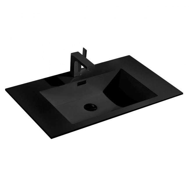 Раковина VCB-13800B из камня, цвет черный