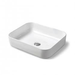 Раковина керамическая Vincea VBS-105, 500*410*130, накладная, цвет белый